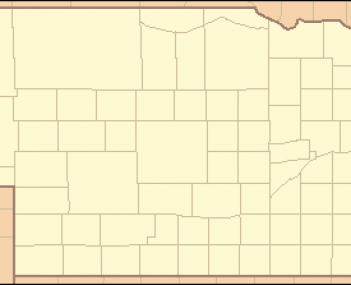 Map showing the location of Schramm Park State Recreation Area