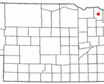 Location of Hartington, Nebraska
