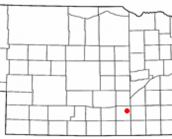 Location of Hastings, Nebraska