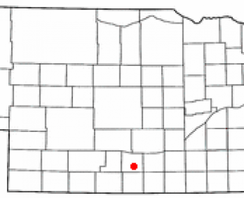 Location of Holdrege, Nebraska