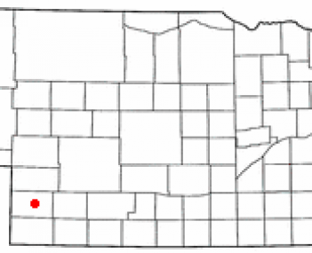 Location of Imperial, Nebraska