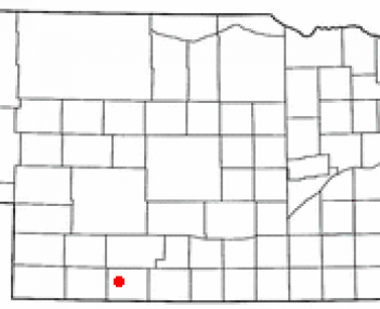Location of McCook, Nebraska