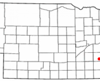Location of Milford, Nebraska