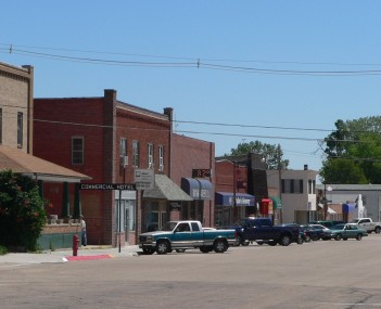 Downtown Mullen: First Street