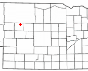 Location of Mullen, Nebraska