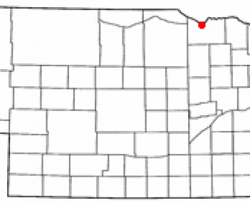 Location of Niobrara, Nebraska