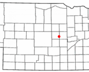 Location of North Loup, Nebraska