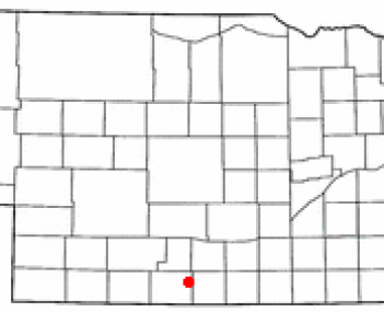 Location of Oxford, Nebraska