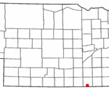 Location of Superior, Nebraska
