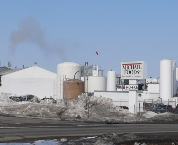 Michael Foods egg-processing plant in Wakefield