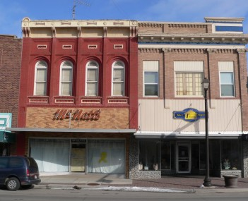 Wayne's commercial district is listed in the National Register of Historic Places.