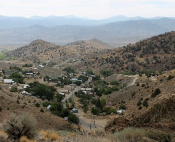 View of Silver City
