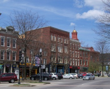 Central Square in downtown Keene