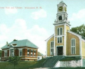 Town Hall and Library c. 1910