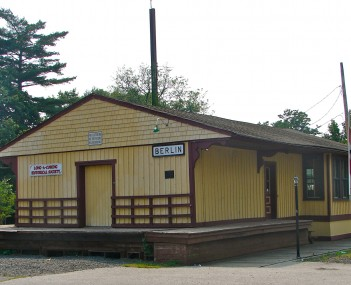 Long-A-Coming Depot, built in 1856 in Berlin and believed to be the oldest extant railroad station in New Jersey
