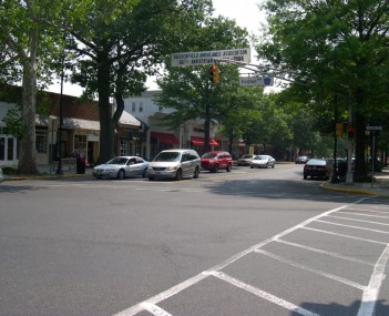 Downtown Haddonfield
