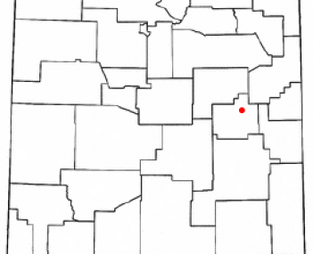 Location of Fort Sumner, New Mexico