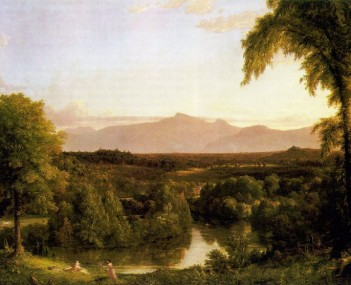 Cole Thomas View on the Catskill Early Autumn