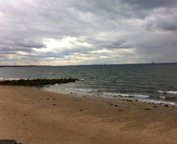 View from Welwyn Preserve in Glen Cove