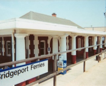 View of Port Jefferson Station
