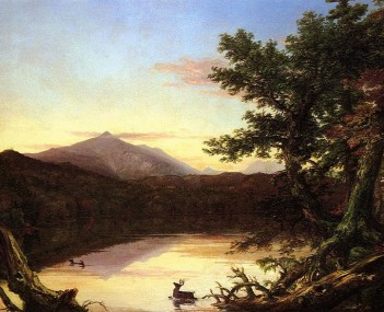 Cole Thomas Schroon Lake 1838-40