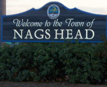 Nags Head town welcome