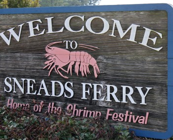 View of Sneads Ferry