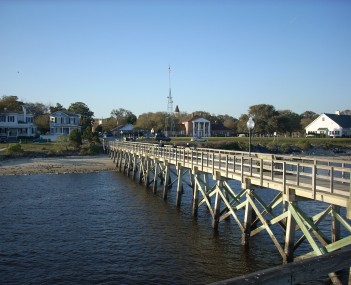 A view of Southport from the fishing pier
