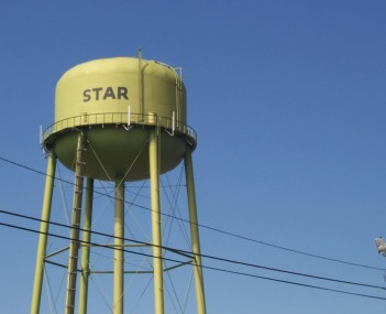 Star water tower