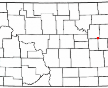 Location of Aneta, North Dakota