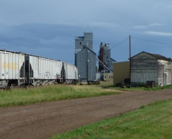 Carrington ND - grain elevators
