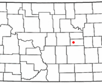Location of Carrington, North Dakota