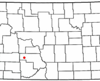 Location of Glen Ullin, North Dakota