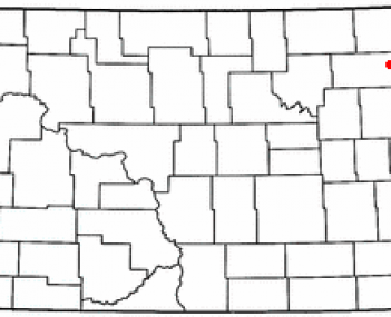 Location of Grafton, North Dakota