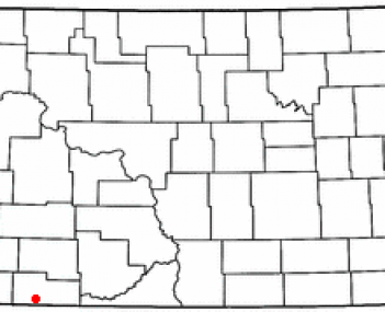 Location of Hettinger, North Dakota