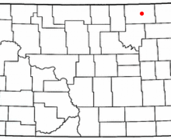 Location of Langdon, North Dakota
