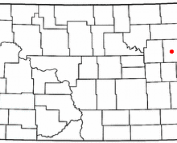 Location of Larimore, North Dakota