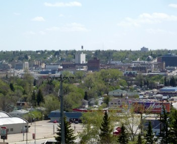 Downtown Minot, 2009