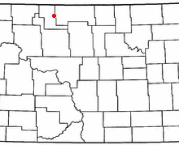 Location of Mohall, North Dakota