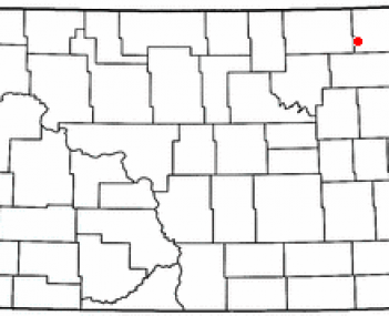 Location of Mountain, North Dakota
