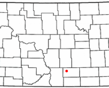 Location of Napoleon, North Dakota