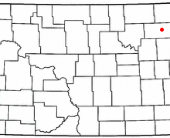 Location of Park River, North Dakota