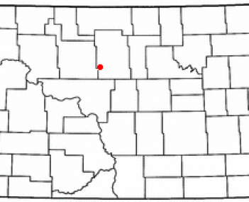 Location of Velva, North Dakota