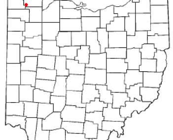 Location of Archbold, Ohio