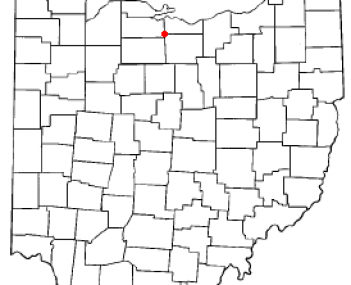 Location of Bellevue, Ohio