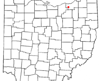 Location of Berea, Ohio
