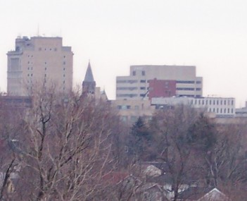 Skyline of downtown Canton