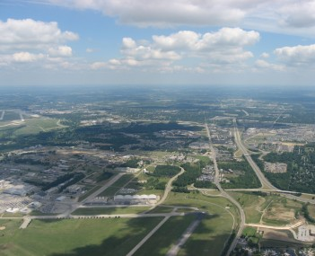 Aerial view of Fairborn
