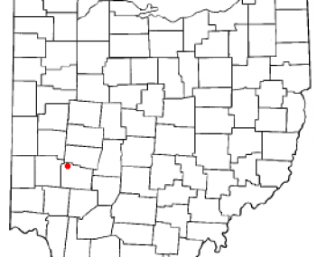 Location of Fairborn, Ohio