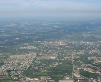 Aerial view of Miamisburg